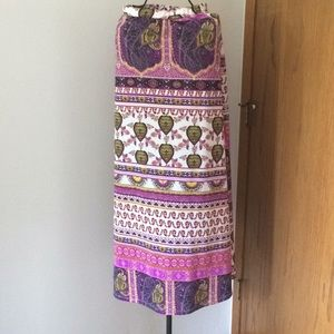 Lily star Skirts - Long colorful print skirt Lily Star Size XS